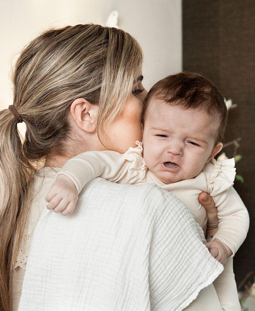 Baby med smerter