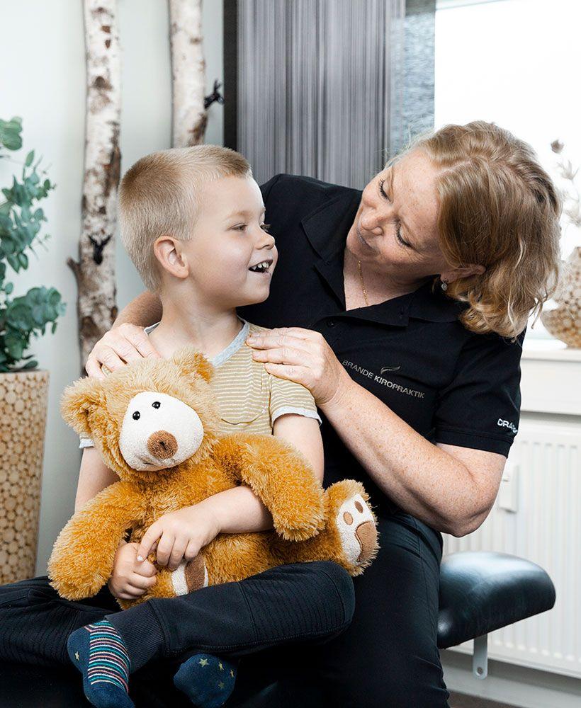 Behandling af børn med smerter