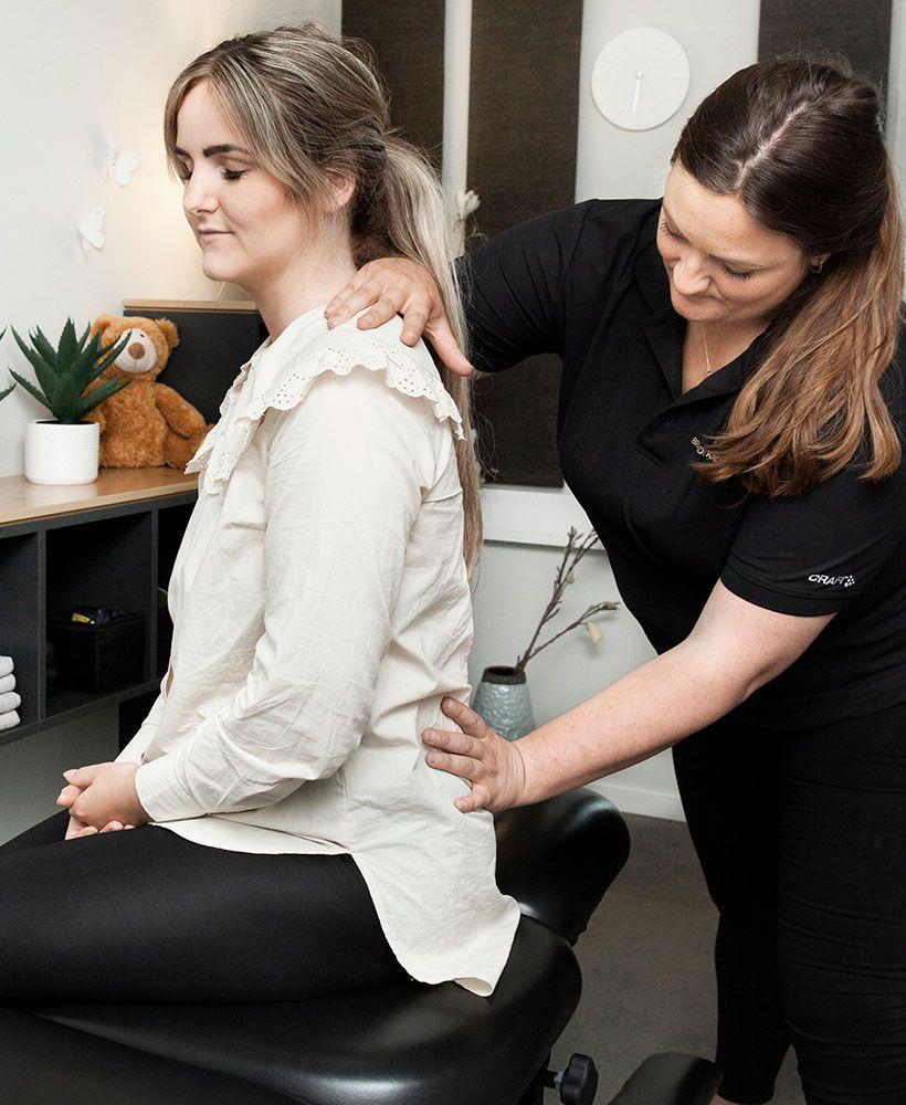 kiropraktisk behandling af bækkensmerter