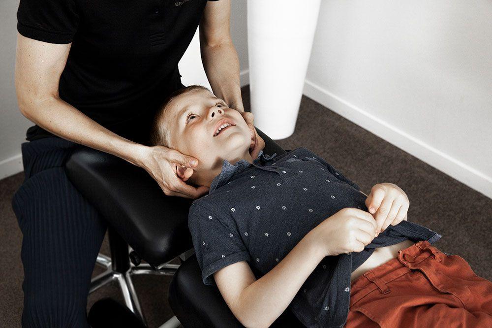 Kiropraktisk behandling af skolebørn