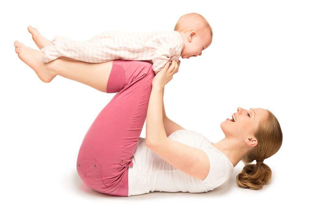 Træning efter fødslen